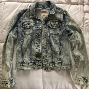 Mossimo acid wash jean jacket